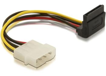 DeLock Power Adapter Molex 4-pin samica na 1x SATA 15-pin kolm� hore