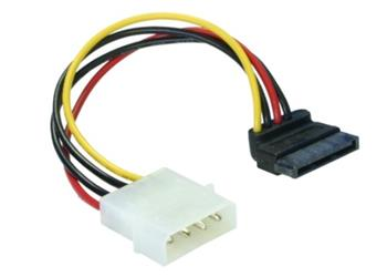 DeLock Power Adapter Molex na 1x SATA 15-pin kolm� dolu