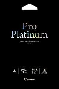 Canon fotopapír PT-101 - 10x15cm (4x6inch) - 300g/m2 - 20 listů - lesklý