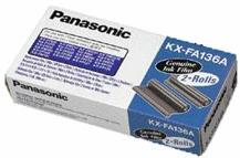 Panasonic KX-FA136A-E, 2ks náhr. filmu pro KX--F1015/101/131
