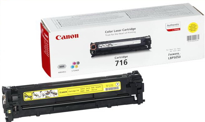 Canon 716 Yellow Toner 1,5k pages (1977B002)