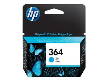 HP CB318EE Ink Cart No.364 pro D5460, C5380, 3ml, Cyan