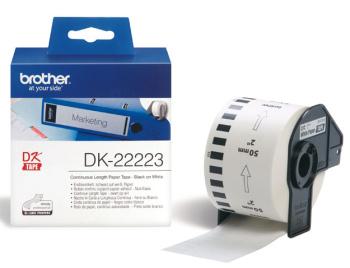 Brother - DK-22223 (papírová role 50mm x 30,48m)