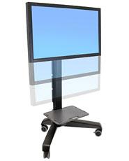 ERGOTRON Neo-Flex Mobile MediaCentre Cart UHD,ERGOTRON BLACK - mobilní stojan pro LCD + přísl.