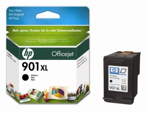 HP 901XL Black Ink Cart. 14ml (CC654AE)