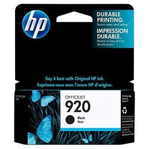 HP CD971AE Ink Cart No.920 pro OJ Pro 6500, 10ml, Black