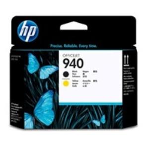 HP C4900A Tisk. hlava No.940 pro OJ Pro 8000, Black+Yellow