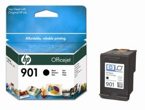 HP 901 Black Ink Cart. 4ml (CC653AE)