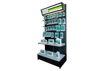 Digitus prodejní stojan pro blistry, nesestavený, 95x50x210cm