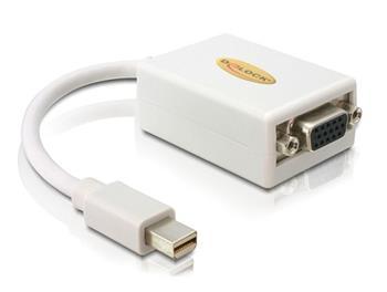 Delock adaptér DisplayPort mini (samec) na VGA (samice)