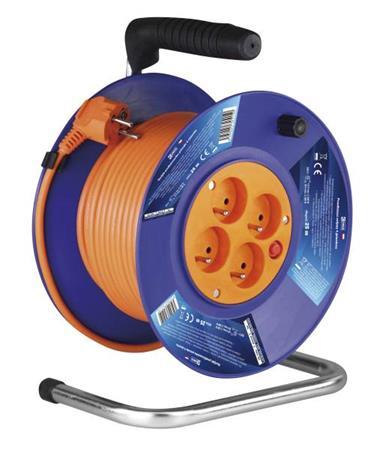 Emos prodlužovací buben - 4 zásuvky, 25m, 1.5mm