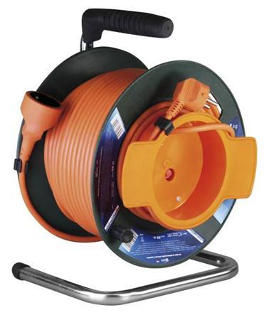 Emos prodlužovací buben - 1 zásuvka, 50m, 1.5mm