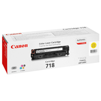 Canon 718 Yellow Toner 2.9k pages (2659B002)