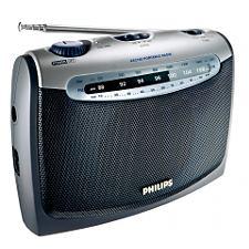 Philips AE2160_Prenosný prijímač FM/AM, napájanie sieť/batéria