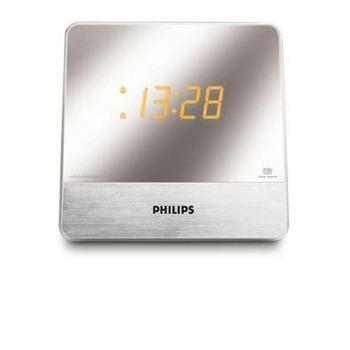 Philips AJ3231_Elegantný rádiobudík, zrkadlový display, FM/AM, duálny čas,