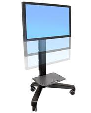 ERGOTRON Neo-Flex Mobile MediaCentre Cart VHD ERGOTRON BLACK - mobilní stojan pro LCD + přísl.