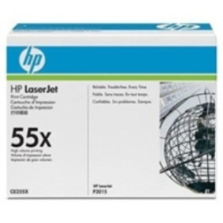 HP 55X Toner LaserJet 12,5k pages (CE255X)