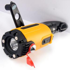 EVOLVEO Car Light (multifunkční svítilna do auta, ruční dobíjení, dobíječka pro mobily micro USB, NOKIA konektory)