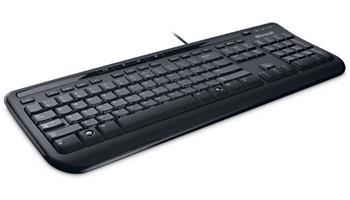 Microsoft Wired Keyboard 600 USB English Black