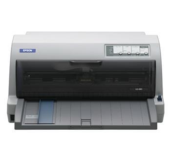 EPSON jehličková LQ-690 - A4/24pins/529zn/1+6 kopii/LPT/USB