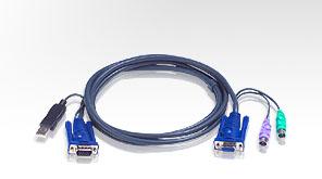 ATEN integrovan� kabel 2L-5503UP pro KVM USB 3m pro CS9138