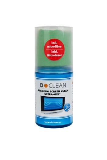 D-clean PREMIUM SCREEN CLEAN – Ultra Gel, 200ml + utěrka D-WIPES 40x40 cm