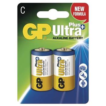 GP C Ultra Plus, alkalická - 2 ks
