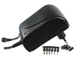 Emos napájecí zdroj pulzní MW3R15GS, 3-12 V / 1.5 A max., micro/mini/USB