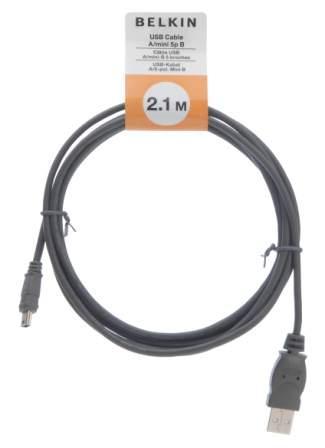 Belkin kabel USB 2.0 A mini B, 5-pin, 2.1m