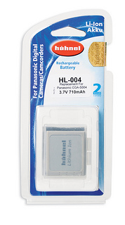 Hähnel HL-004 - Panasonic CGA-S004, 710 mAh 3.7V