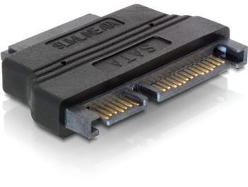 DeLock adaptér SATA 22pin samec -> Slim SATA 7+6pin samice