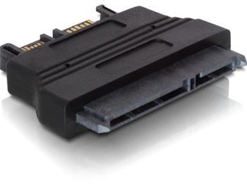 DeLock adaptér SATA 22pin samice -> Slim SATA 7+6pin samec
