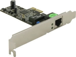 DeLock PCI Express x1 Gigabit LAN (+low profile)