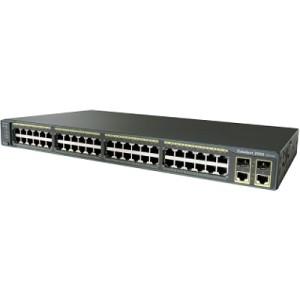 Cisco Catalyst WS-C2960-48TC-L (48x10/100, 2xGig.)