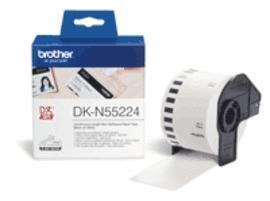 Brother - DKN 55224 (papírová role nelepící bílá 54mm x 30,48m)