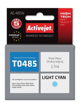 ActiveJet Ink cartridge Eps T0485 R200/R300 Light Cyan - 17 ml AE-485