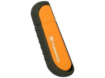 Transcend 8GB JetFlash V70, USB 2.0 flash disk, oranžový, odolá nárazu, tlaku, prachu i vodě