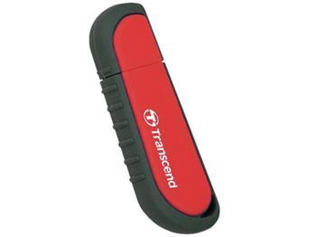 Transcend 16GB JetFlash V70, USB 2.0 flash disk, červený, odolá nárazu, tlaku, prachu i vodě