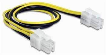 Delock napájací kabel p4 (4-pinový) samec/samec, 30 cm
