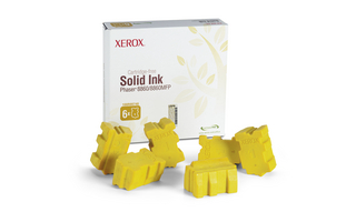 Xerox Genuine Solid Ink pro Phaser 8860 Yellow (6 STICKS)
