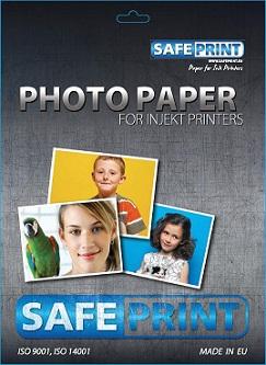 Fotopapír SAFEPRINT pro ink tiskárny LESKLÝ, 260 g, A4, 20 sheets
