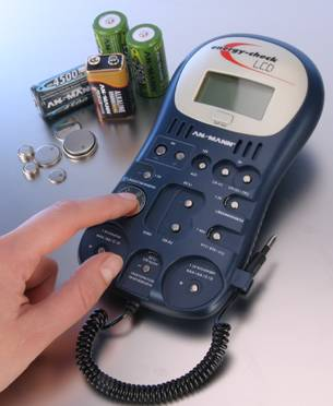 Ansmann Energy Check LCD - tester baterií