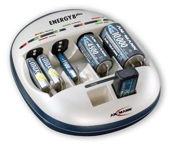 Ansmann ENERGY 8 Plus - nabíječka