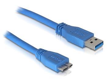 Delock USB 3.0 kabel A samec/ Micro samec délka 2m