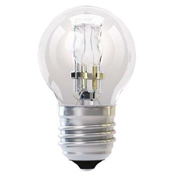 Emos Halogenová žárovka MINI GLOBE, 42W/55W E27, teplá bílá, 630 lm, Classic C