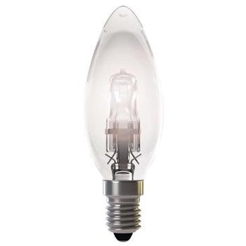 Emos Halogenová žárovka CANDLE, 42W/55W E14, teplá bílá, 630 lm, Classic C