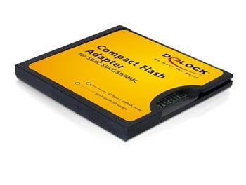 DeLock Adapter CF II na SD/SDHC/SDXC/MMC
