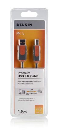 Belkin kabel USB 2.0 A/B řada prémium, 3m