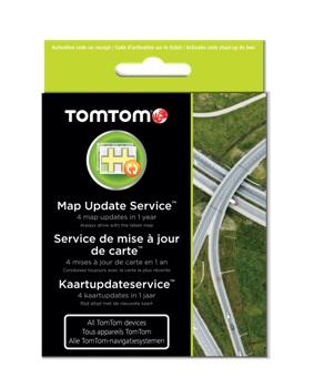 TOMTOM karta na 1 roční update map