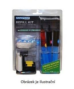 SAFEPRINT Refill kit PROFI pro Canon Pgi-5BK - 2x zásobník INK 20ml, 1x jehla, stojánek, 2x špuntík, vrtáček, špuntík na